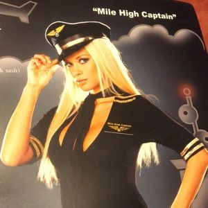 NEW - Mile High Captain costume